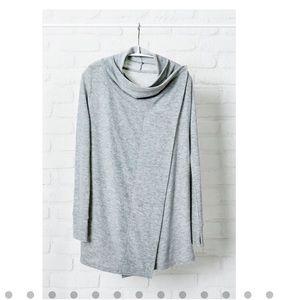 Always cardigan large grey